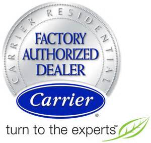 Carrier logo factory auth